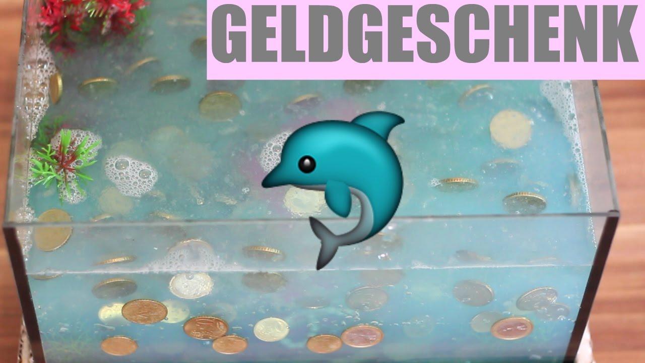 Geldgeschenk Aquarium Geschenkideen Zur Hochzeit Braut Tv Youtube