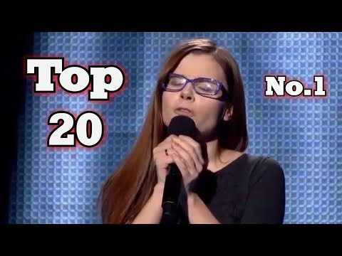 The Voice - My Top 20 Blind Auditions Around The World (No.1)