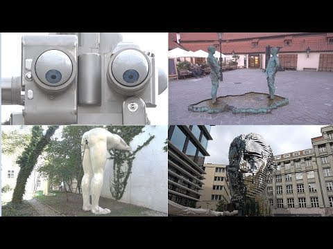 Prague - 9 Bizzare sculptures by David Cerny