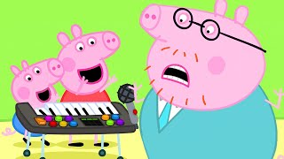 Peppa Pig Official Channel ⭐️ NEW ⭐️Peppa Pig Plays Funny Music