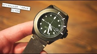 Spinnaker Spence Drab 200M Dive Watch Review