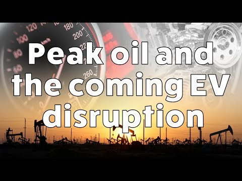 Peak oil and the coming electric vehicle disruption