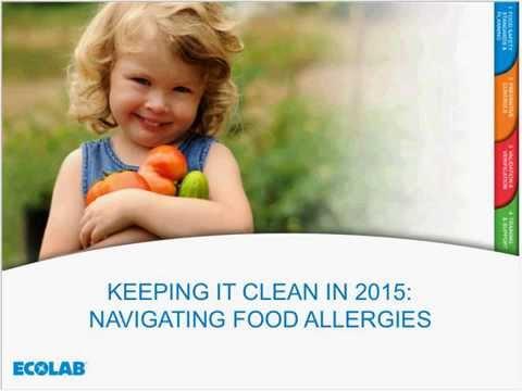Ecolab Food Safety Webinar May 2015