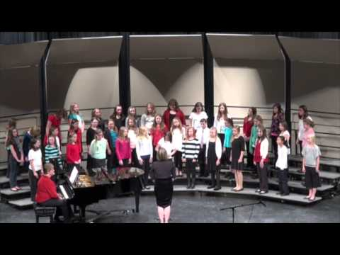 Northland Pines Middle School Holiday Concert 2013