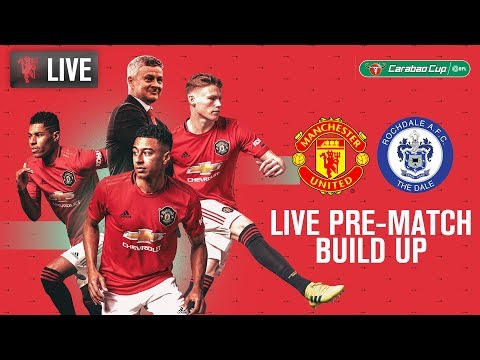 Manchester United V Rochdale - LIVE MUTV Pre-Match Build Up 18:30 (BST)   Carabao Cup