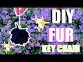 DIY FLUFFY KEYCHAIN  AnaClare