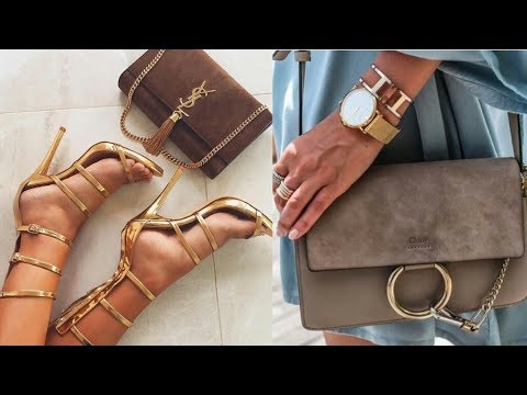 BOLSOS Y ZAPATOS DE MODA 2018 | Tendencias unboxing de carteras bolsas firmas Chanel, Louis Vuitton