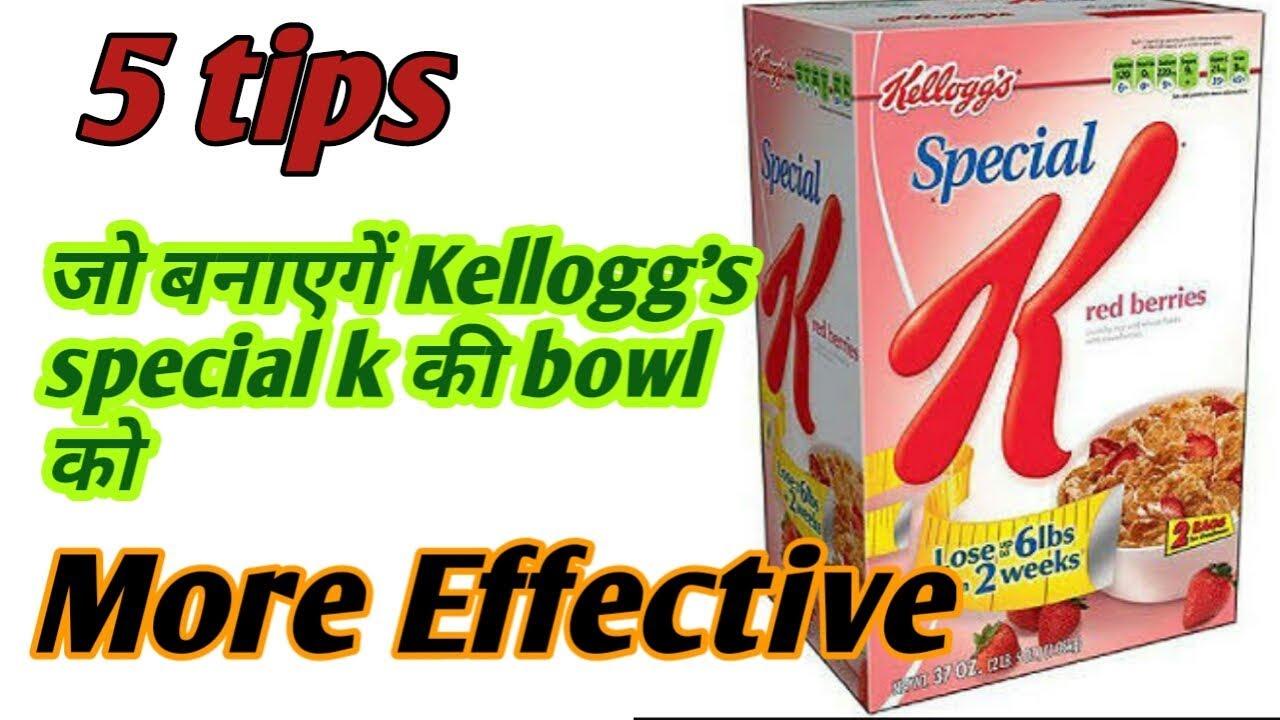 Special k weight loss diet