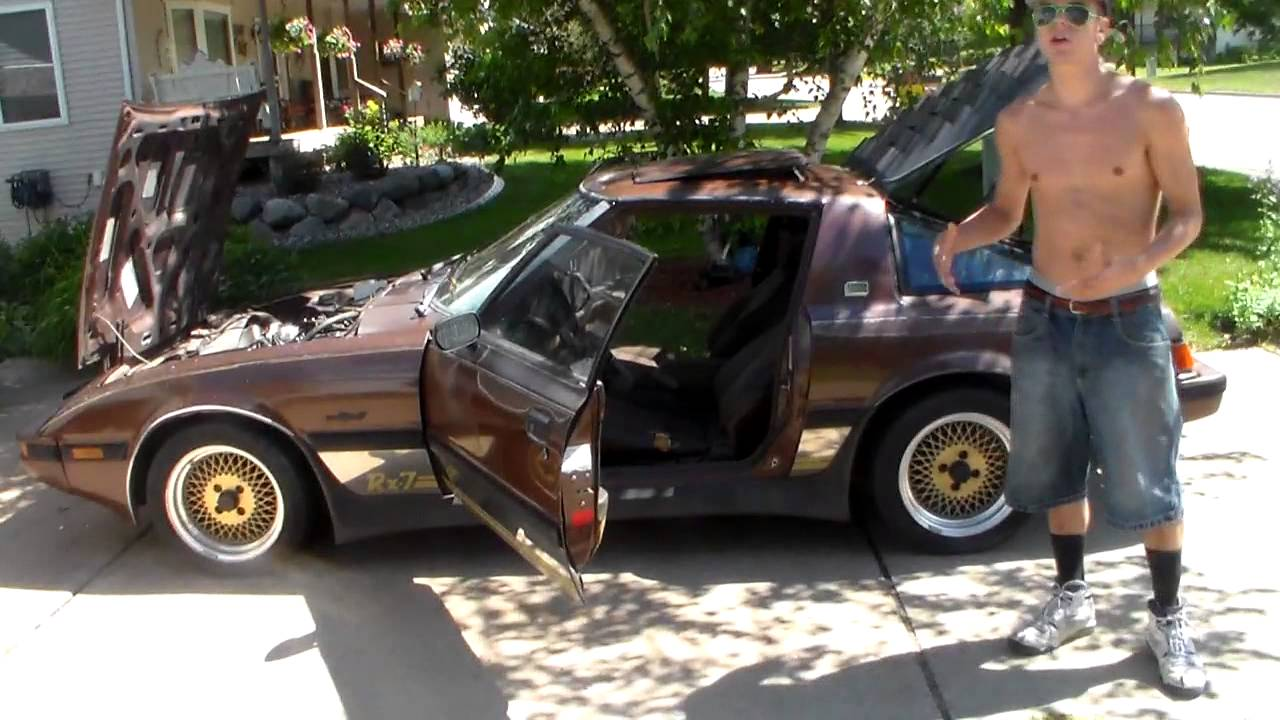 1983 GSL Mazda Rx7 - YouTube