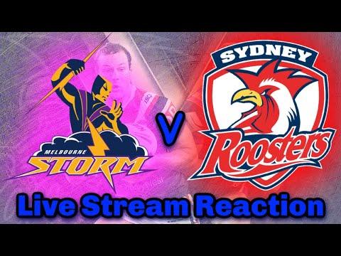 Melbourne Storm V Sydney Roosters | NRL Round 8 - Live Stream | Reaction