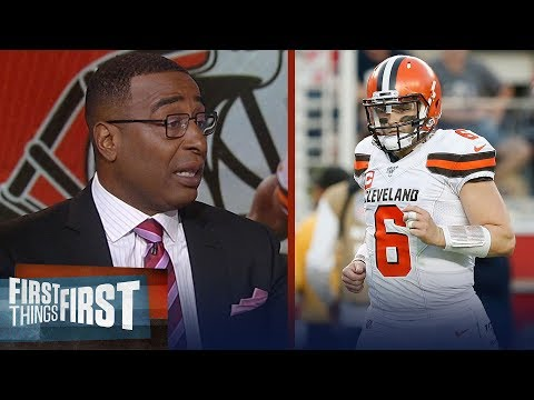 Browns' struggles aren't Baker or OBJ, blame their offensive line — Cris | NFL | FIRST THINGS FIRST