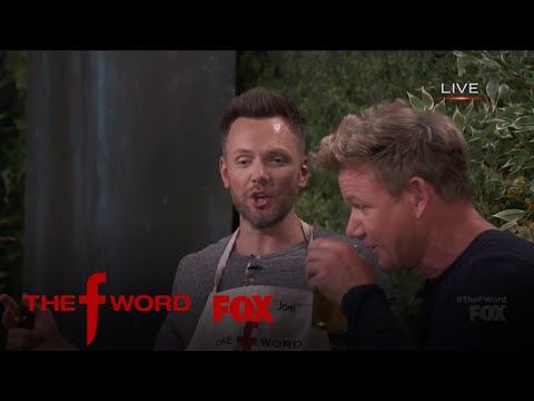 Joel McHale Makes Gordon Laugh So Hard He Chokes | Season 1 Ep. 4 | THE F WORD