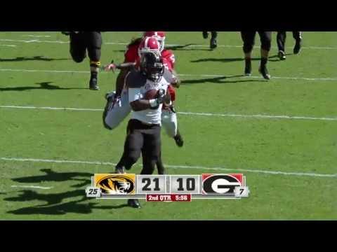 HIGHLIGHT: Murphy 36 Yard Touchdown vs Georgia