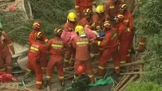 上海一厂房墙体倒塌 5人丧生 20多人被困