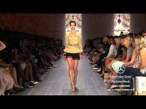 LENA HOSCHEK : MERCEDES-BENZ FASHION WEEK BERLIN SS15