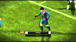 Pes 2012 Messi moonwalk