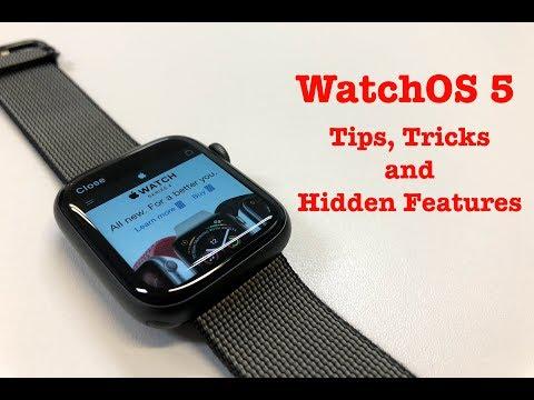 WatchOS 5 - Best Tips, Tricks and Hidden Features!!