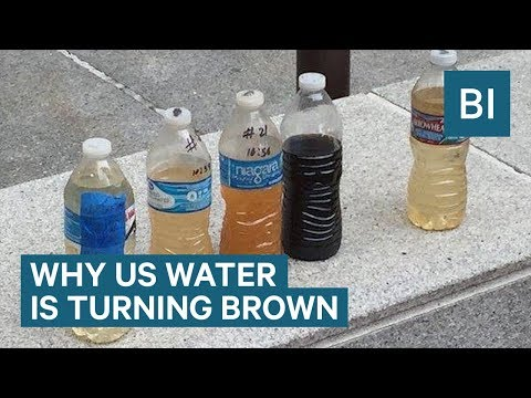 Erin Brockovich explains why water across the US is turning brown, yellow, and other colors