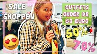 ⭐️SALE SHOPLOG⭐️ OUTFITS ONDER DE 50 EURO SHOPPEN BIJ ZARA, BERSHKA, MONKI & MEER????