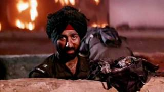 Hindustan Meri Jaan - A scene from Movie Border