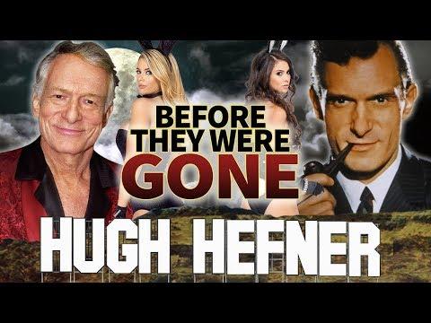 HUGH HEFNER  Before They Were GONE  Playboy Founder