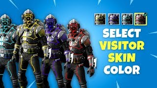 Select Color for Blockbuster Skin - Fortnite Battle Royale