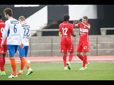 «Спартак» в товарищеском матче одержал победу над «Олесунном»