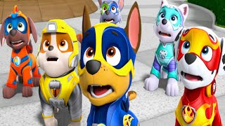 Paw Patrol | Pups Save Mr.Porter & Alex | Paw Patrol Mighty Pups Chase Everest on Action Nick Jr HD