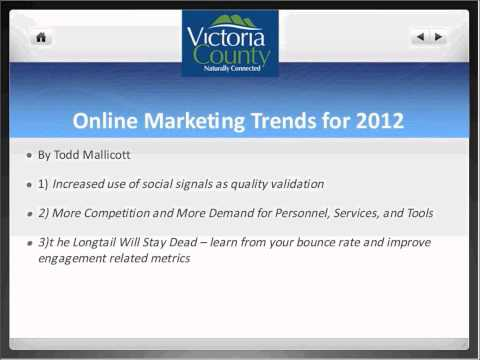 2012Tourism & Travel Trends,Online Meeting & Social Media with Presenter Tom Wilson