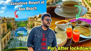 A day in a Luxurious Hotel Near Sea Beach    Stay, Food & more    Puri Sea Beach after lockdown   