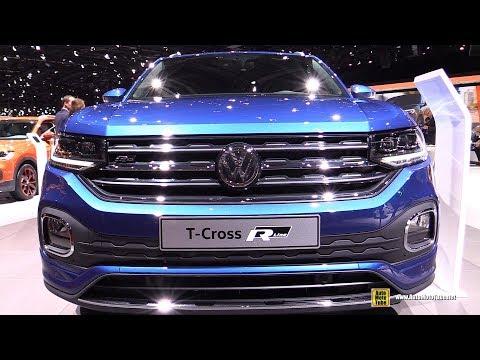 2020 Volkswagen T-Corss R-line - Exterior and Interior Walkaround - Debut at 2019 Geneva Motor S