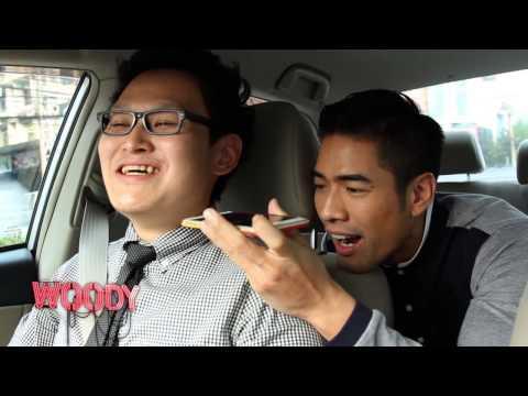 """""""วู้ดดี้""""ขับ Uberครั้ง�ร�ในชีวิต!"""