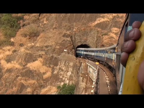 Jammu to Katra Yatra Mata Vaishno Devi Full Train Route most amazing visuals #vlog