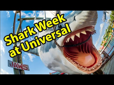 Universal Studios Orlando Shark Week | Paying Tribute to the Jaws Attraction