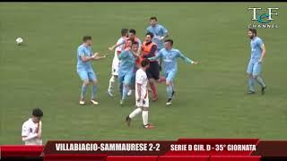 Serie D Girone D Villabiagio-Sammaurese 2-2