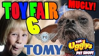 Toy Fair 2015 Part 6: Crazy Cart, Tomy BIG WORKS, Playmobil, Ugglys Pet Shop, Flying Gadgets X-Voice