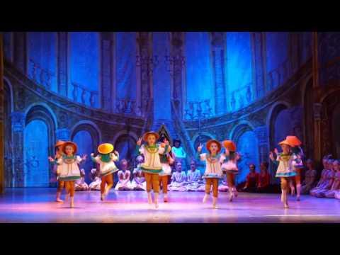 """Детский балет """"Щелкунчик"""". Китайский танец"""