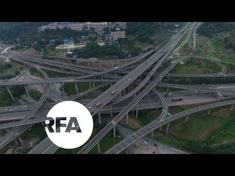 Chinese Drivers Bewildered by Highway Interchange | Radio Free Asia (RFA)