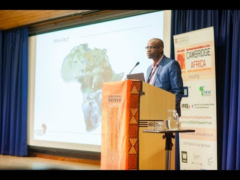 Professor Kelly Chibale's presentation, Cambridge Africa Day, 1st May 2018