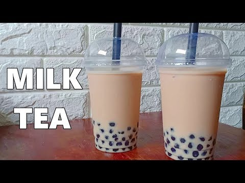 How to make Milk Tea Recipe | Boba Milk Tea