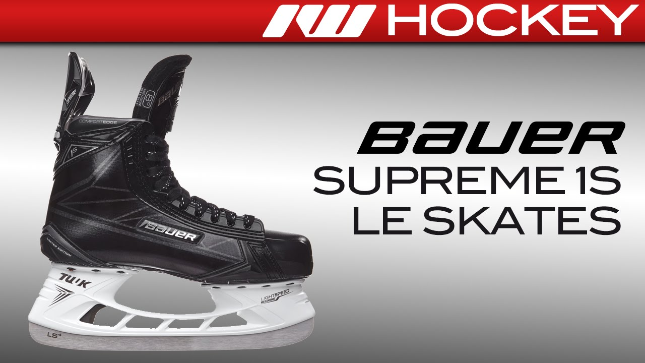 Limited Edition Bauer Supreme 1S Skate Review - YouTube
