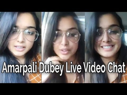 Amarpali Dubey Live Video Chat during Travelling to Deoria to Patna For BORDER Movie shoot