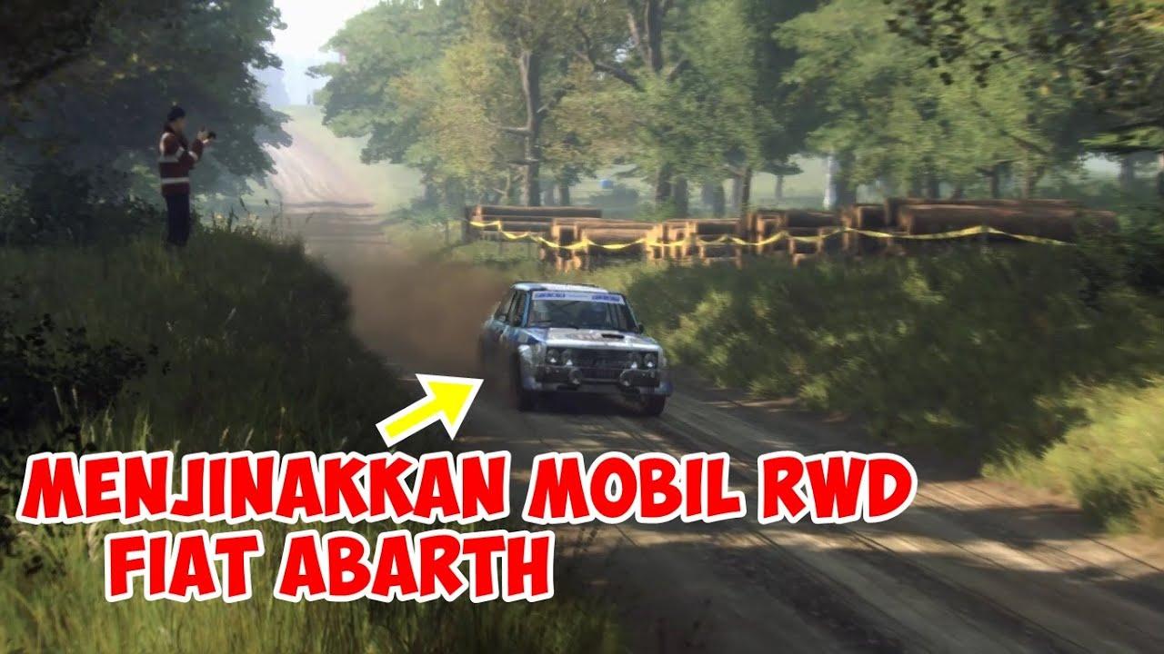 MENJINAKKAN MOBIL RWD FIAT ABARTH SUSAH BANGET!! | DIRT RALLY 2.0 INDONESIA