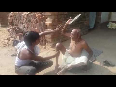 Old Indian man abusing.. Hilarious comedy.. Must watch