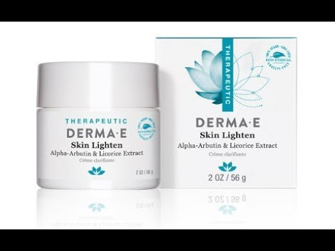 Derma e skin lighten review