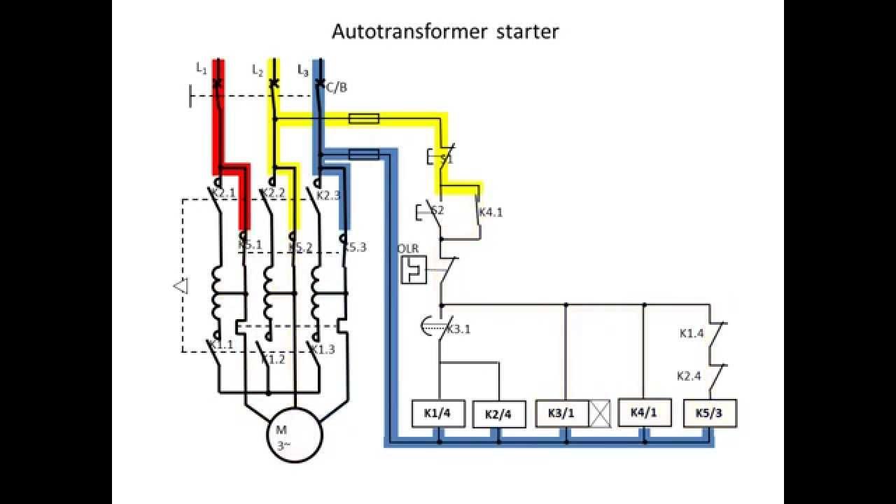Wiring Diagram Of Dol Starter