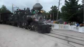 Midwest Central Railroad at the Old Threshers Reunion