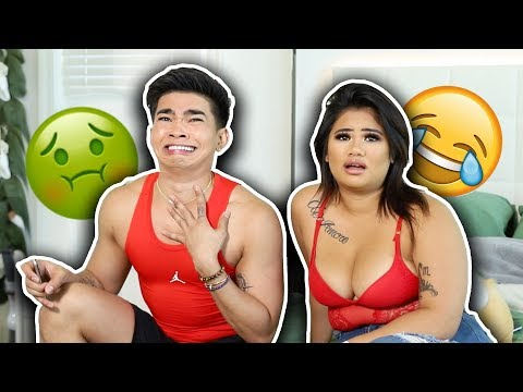 My Sister and I REACT to our Old Videos - funny af