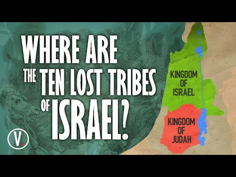 Where Are The Ten Lost Tribes Of Israel?