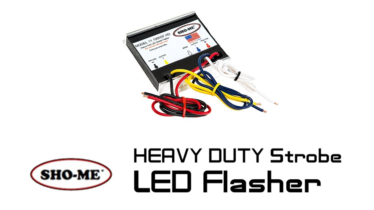 maxresdefault sho me strobe led flasher heavy duty youtube show me wiring diagram for ac wd45 tractor at eliteediting.co